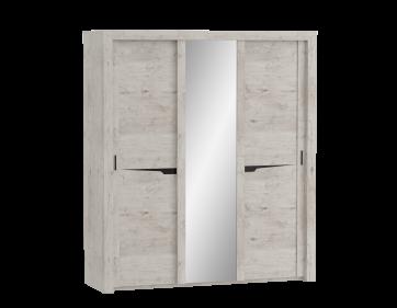 """Шкаф 3 дв. """"Соренто"""" с раздвижными дверями"""
