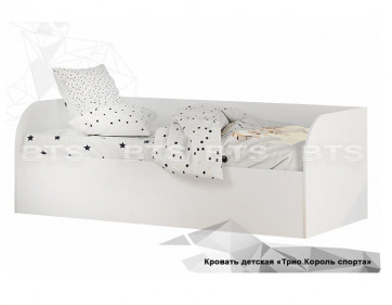 """Кровать детская КРП-01 """"Трио. Король спорта"""""""