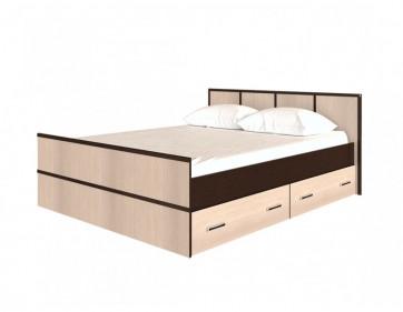 Кровать  «Сакура» 1400  с ящиками