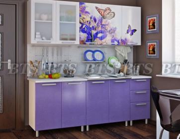 Кухня Люкс «Ирис» 2,0 м
