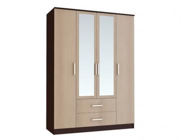 Шкаф 4-х створчатый «Фиеста»
