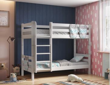 """Двухъярусная кровать """"Соня"""" с прямой лестницей. Вариант 9"""