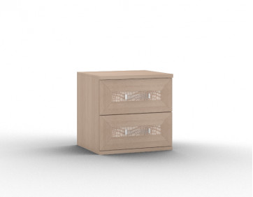 "Тумба прикроватная с двумя ящиками ""Gloss"""
