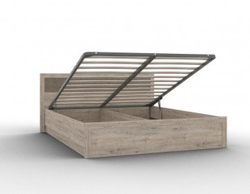 """Кровать 03/1 """"Кантри"""" 1600 с подъемным механизмом"""