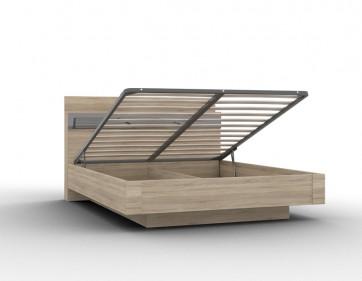 """Кровать Кр-05 """"Lucido"""" 1600 с подъемным механизмом (ЛДСП)"""