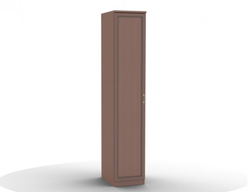 Шкаф для одежды-01 (фасад глухой) Волга