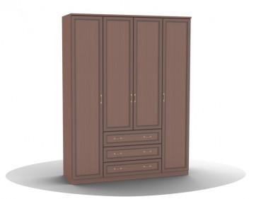 Шкаф для одежды-04 (фасад глухой) Волга