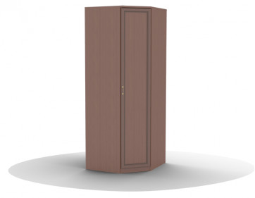 Шкаф для одежды угловой-01 (фасад глухой) Волга